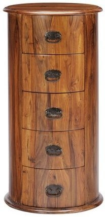 Jaipur Ganga Sheesham 5 Drawer Drum Chest