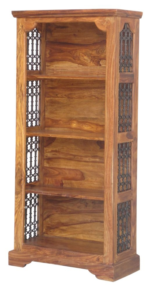 Jaipur Ganga Sheesham Medium Ring Jali Bookcase