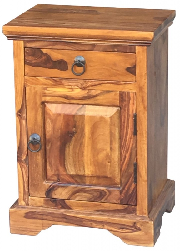 Jaipur Ganga Sheesham Bedside Cabinet - Right