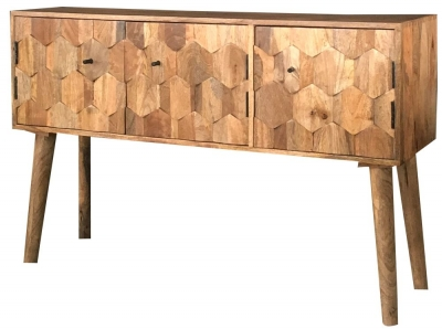 Jaipur Hexagonal Mango Wood Large Sideboard