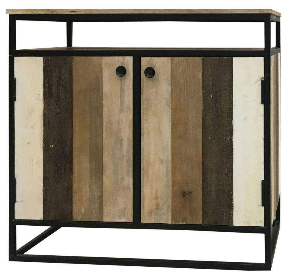 Jaipur Industrial Reclaimed Mango Wood Small Sideboard