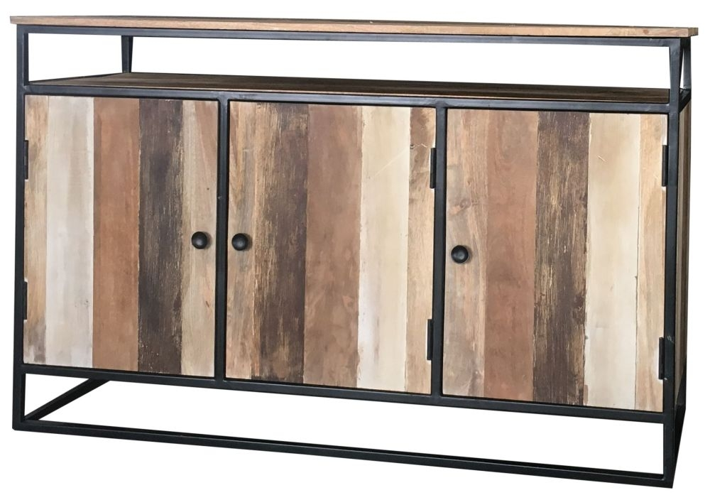 Jaipur Industrial Reclaimed Mango Wood Medium Sideboard