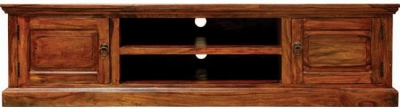 Clearance Jaipur Furniture Ganga Plazma TV Cabinet - Large 2 Doors
