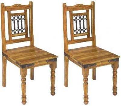 Clearance Jaipur Furniture Jali Dining Chair (Pair) - G279