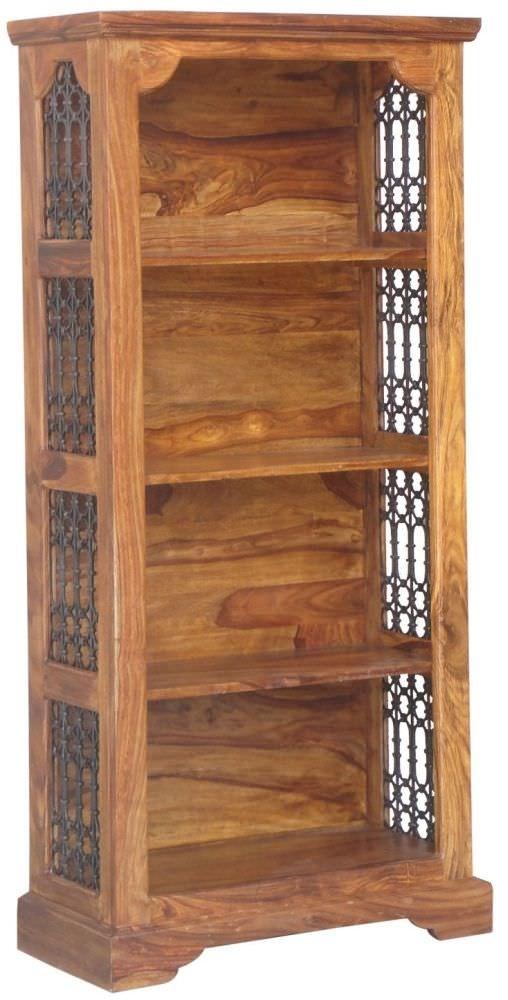 Clearance Jaipur Furniture Ring Jali Bookcase - Medium 3 Shelves