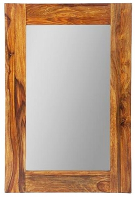 Jaipur Cube Sheesham Small Mirror