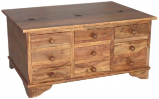 Jaipur Furniture Coffee Table Trunk - 9 Drawers