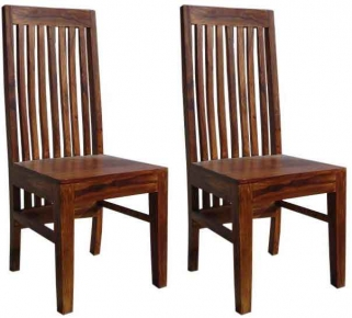 Jaipur Furniture Dining Chair - Long Back (Pair)