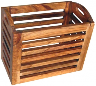 Jaipur Cube Sheesham Small Basket