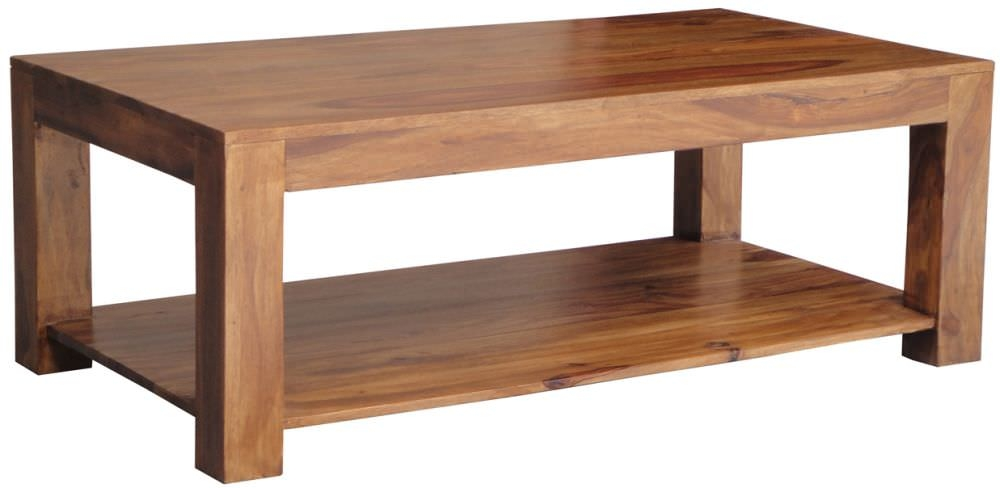 Buy jaipur furniture coffee table large with shelf online cfs uk Coffee tables uk