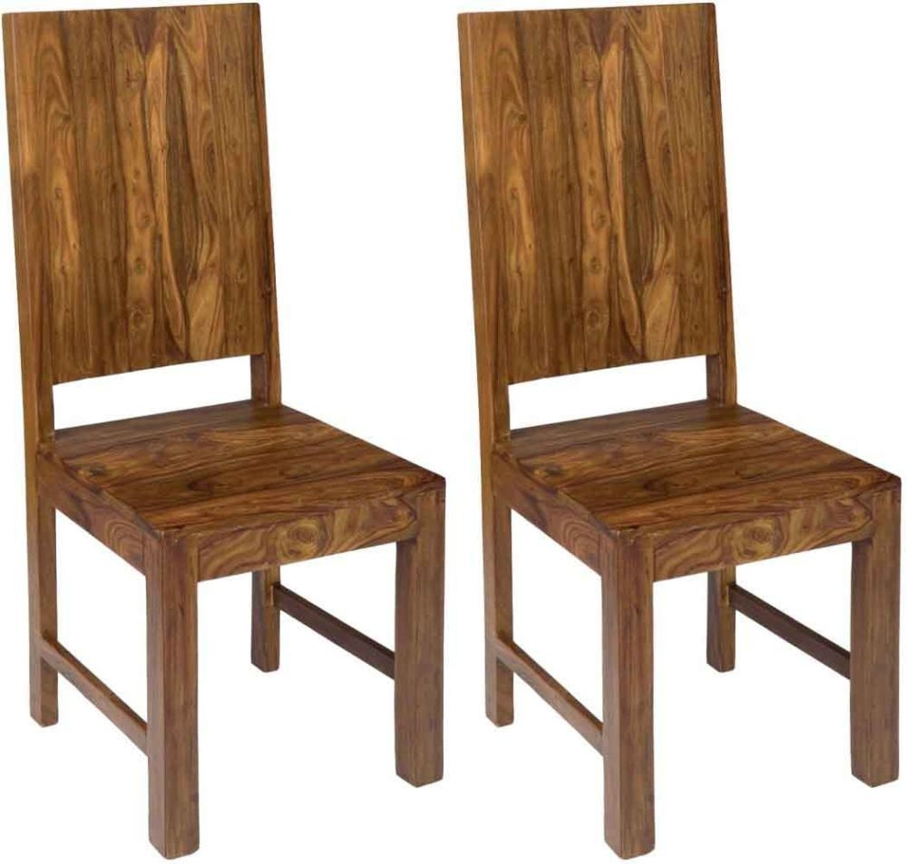 Jaipur Furniture Cube Dining Chair (Pair)