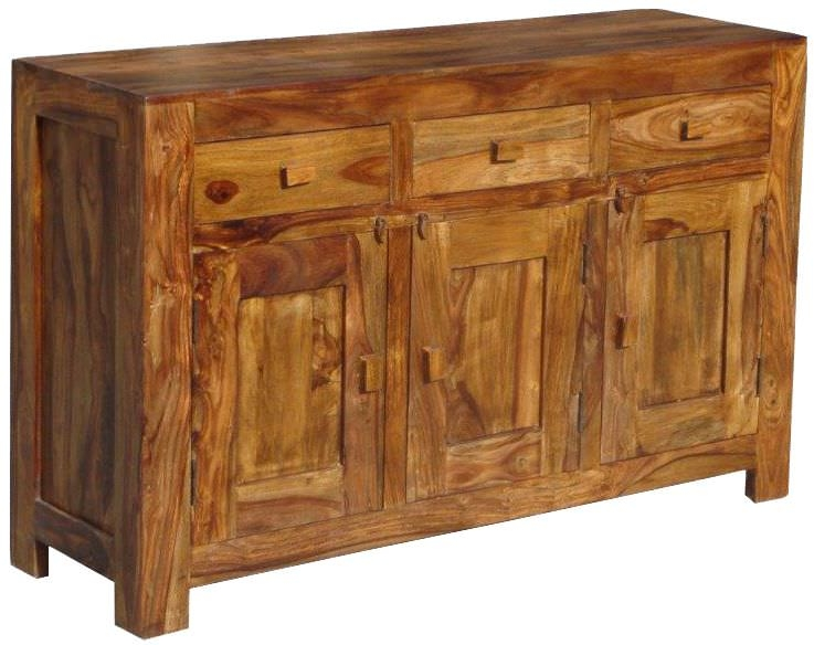 Jaipur Furniture Sideboard Medium 3 Doors 3 Drawers Jaipur Furniture