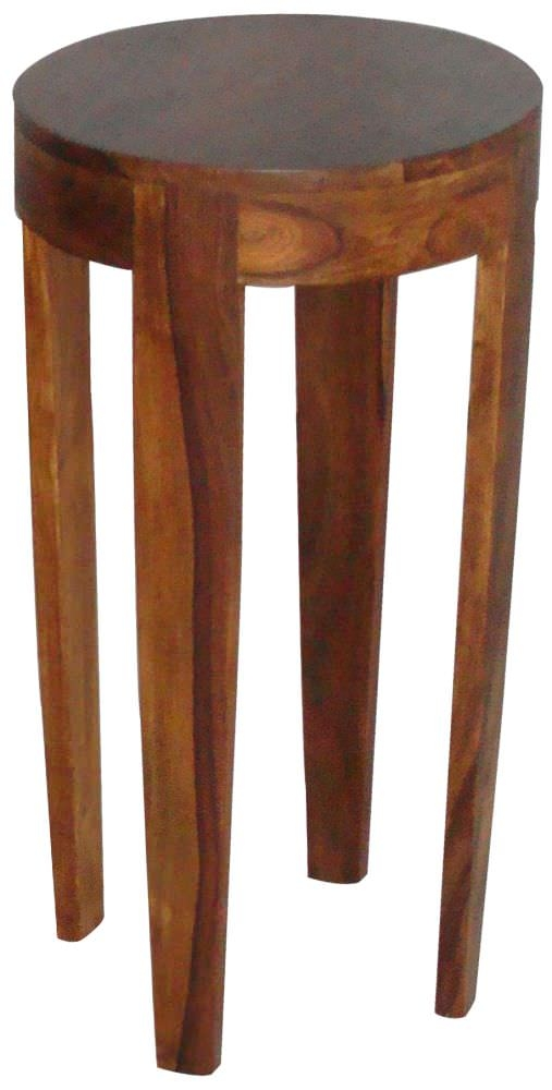 Buy Jaipur Furniture Wooden Round Plant Stand Large Online Cfs Uk