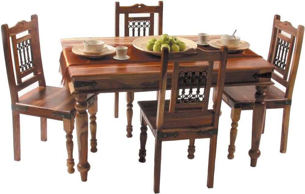 Jaipur Jali Sheesham Large Dining Table