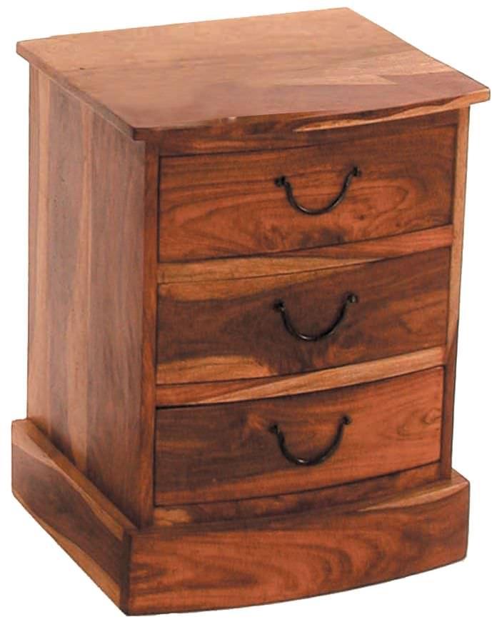 Jaipur Furniture Jali Chest of Drawer - Bow 3 Drawers