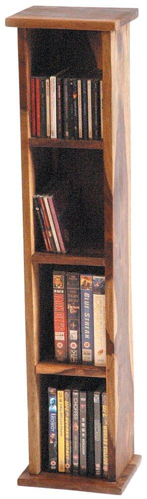 Jaipur Furniture Jali Rustic CD Holder - 3 Shelves