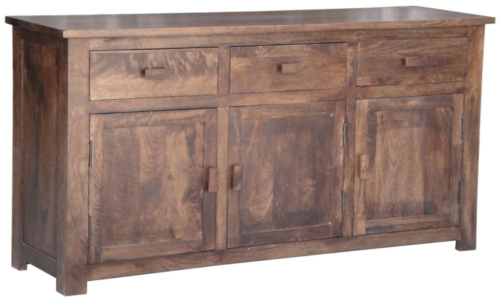 Jaipur Furniture Kashmir Walnut Sideboard - 3 Doors 3 Drawers