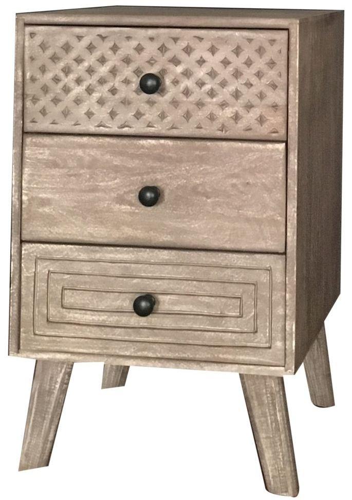 Jaipur Mahi Mango Wood Bedside Cabinet