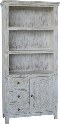 Jaipur Mandakin Mango Wood Large Bookcase