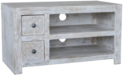 Jaipur Mandakini Mango Wood Small Plazma TV Unit