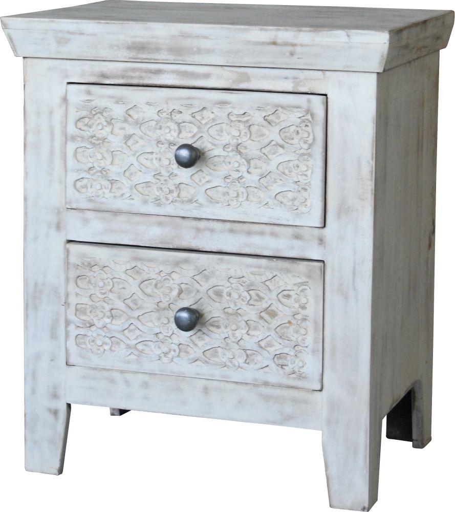 Jaipur Mandakini Mango Wood Bedside Cabinet