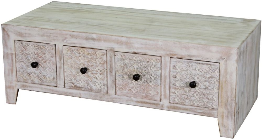 Jaipur Mandakini Mango Wood Storage Coffee Table