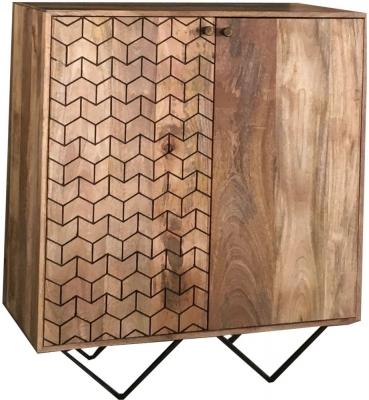Jaipur Nive Mango Wood Bar Cabinet