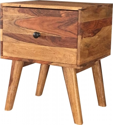 Jaipur Oker Sheesham Wood Small Side Table