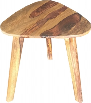 Jaipur Oker Sheesham Wood Medium Side Table