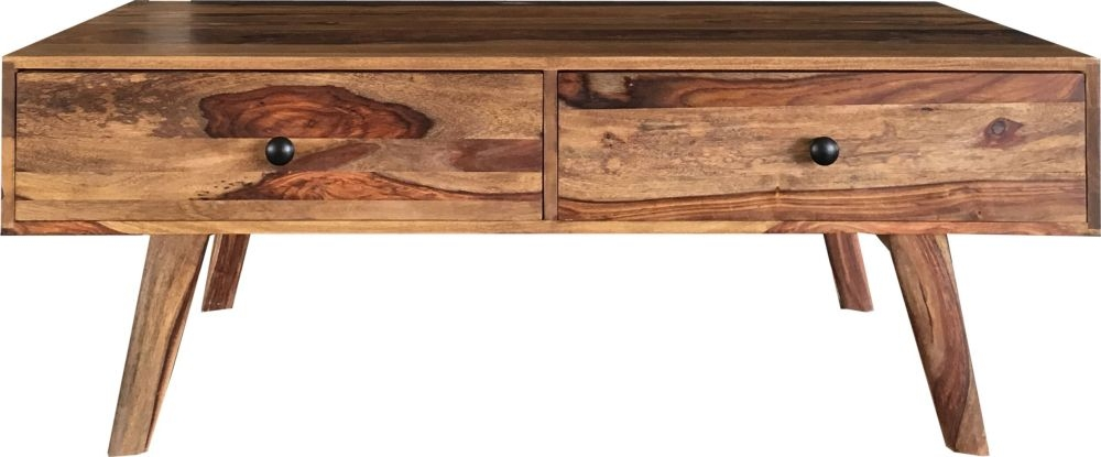 Jaipur Oker Sheesham Wood Storage Coffee Table