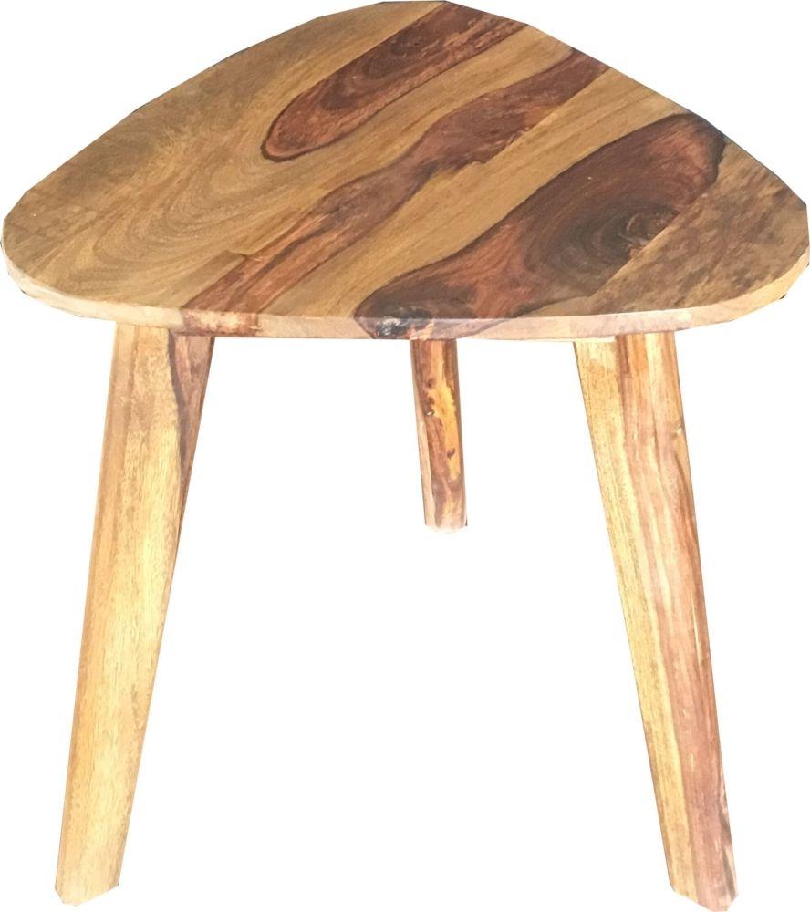 Jaipur Oker Sheesham Wood Side Table