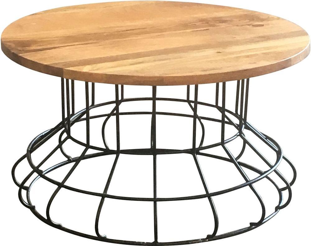 Jaipur Ravi Coffee Table - Mango Wood and Iron