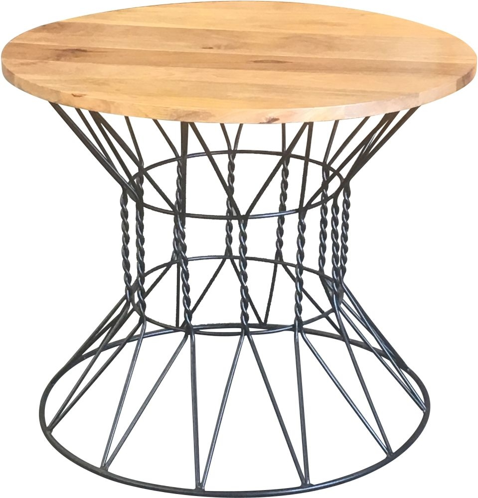 Jaipur Ravi Dining Table - Mango Wood and Iron