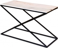 Jaipur Ravi Marble Top Console Table with Iron Base