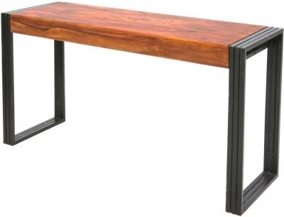 Jaipur Shipra Console Table - Sheesham Wood and Metal