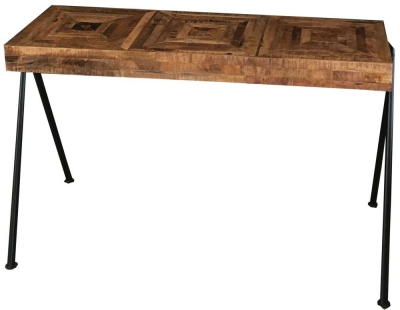 Jaipur Tiber Console Table - Mango Wood and Metal