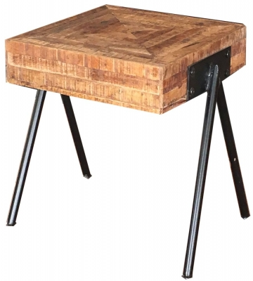 Jaipur Tiber Mango Wood Lamp Table