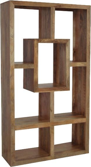 Jaipur Yoga Light Mango Wood Straight Wide Bookcase