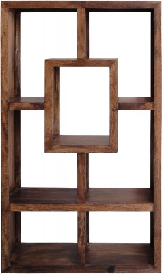 Jaipur Yoga Walnut Mango Large Bookcase