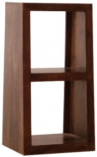 Jaipur Furniture Yoga Walnut 2 Hole Slope Display Unit
