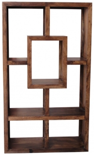 Jaipur Furniture Yoga Walnut Straight 100cm Wide Bookcase