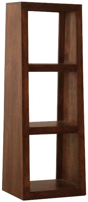 Jaipur Furniture Yoga Walnut 3 Hole Slope Display Unit