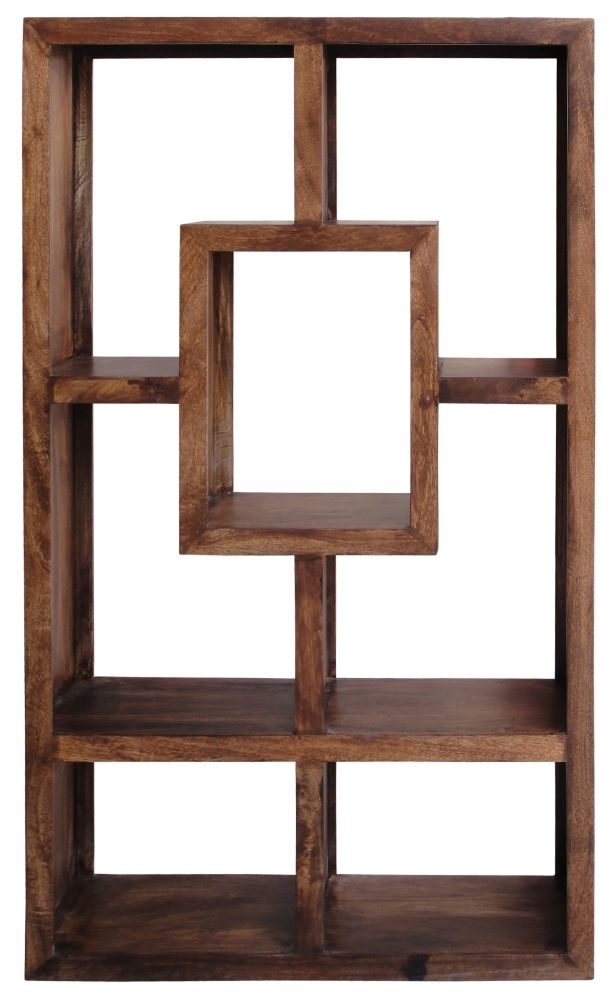 Jaipur Yoga Walnut Mango Small Straight Bookcase