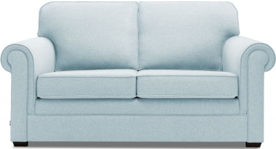 Jay-Be Classic Pocket Sprung Sofa Bed - Duck Egg Fabric
