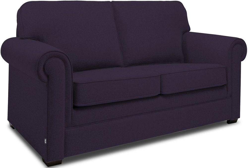 Jay-Be Classic Aubergine Sprung Sofa Bed with Mattress