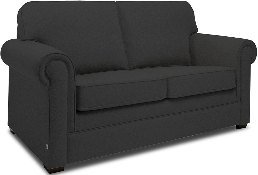 Jay-Be Classic Charcoal Sprung Sofa Bed with Mattress