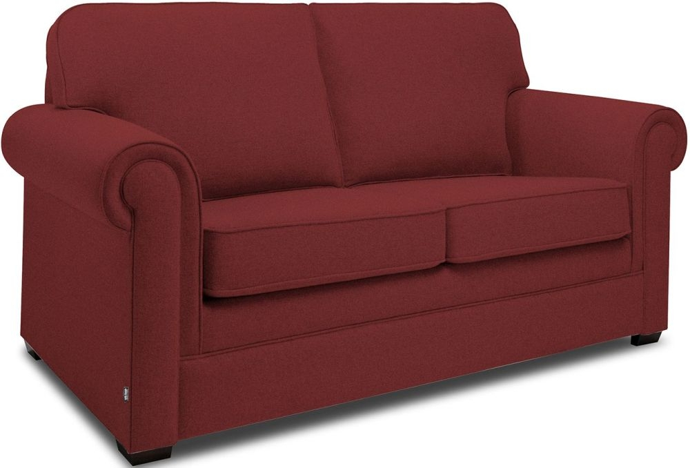 Jay-Be Classic Cranberry Sprung Sofa Bed with Mattress