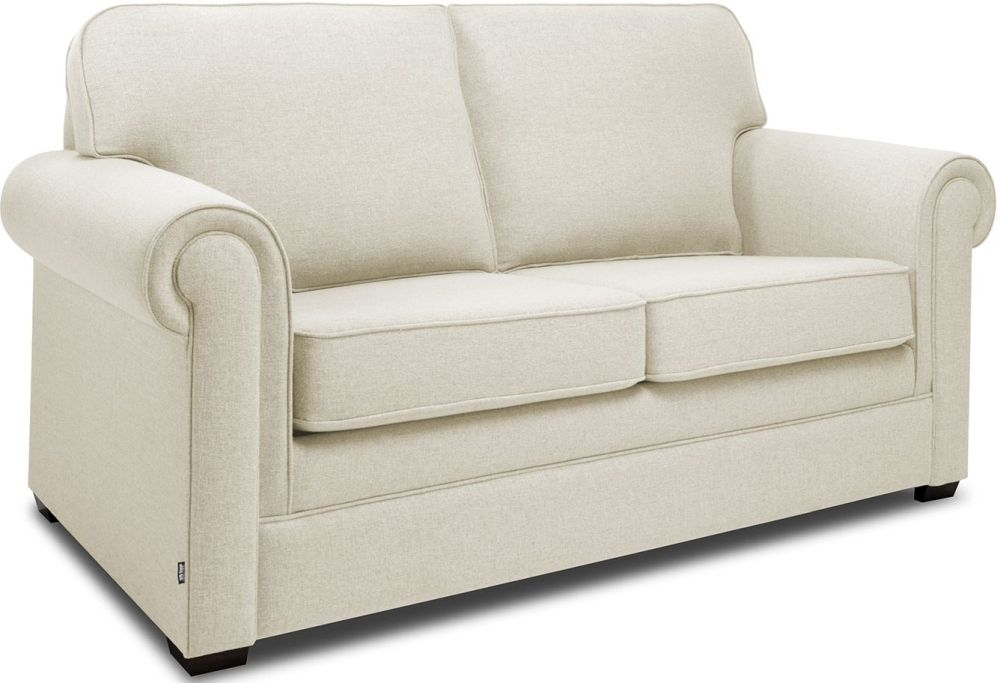 Jay-Be Classic Cream Sprung Sofa Bed with Mattress