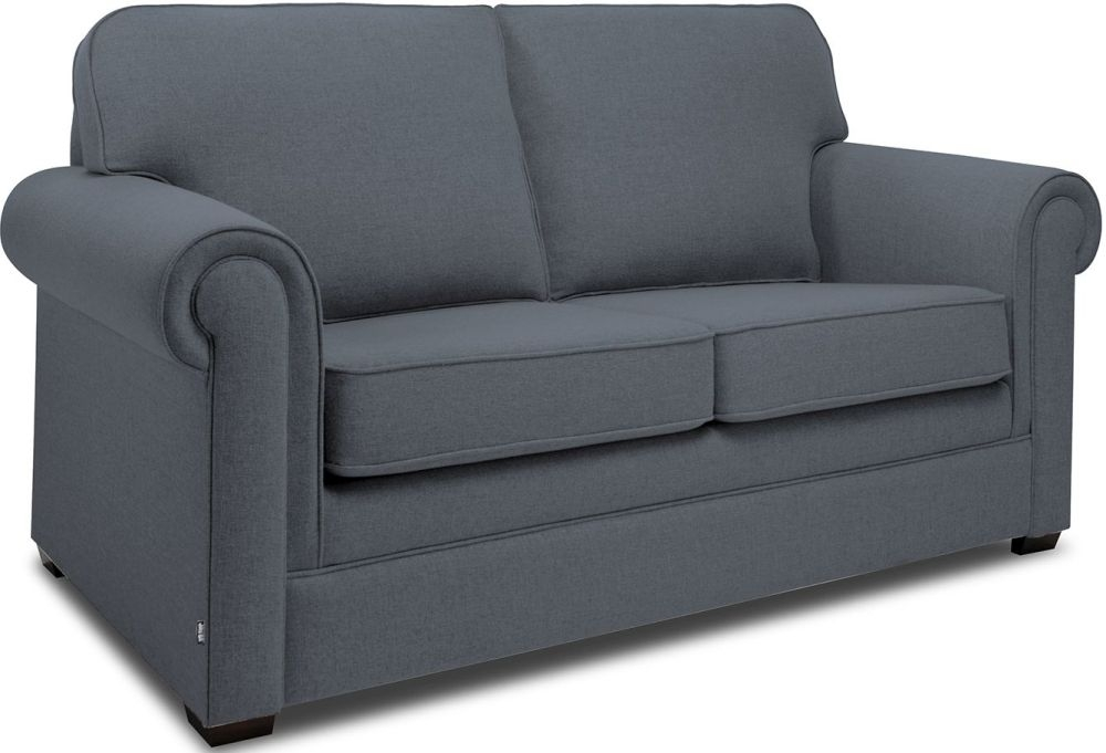 Jay-Be Classic Denim Sprung Sofa Bed with Mattress