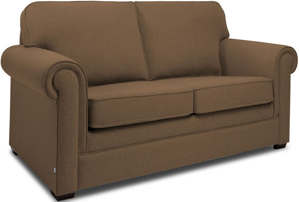 Jay-Be Classic Tan Sprung Sofa Bed with Mattress